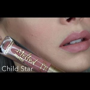 Too Faced Makeup Child Star Too Face Melted Matte Lipstick Poshmark